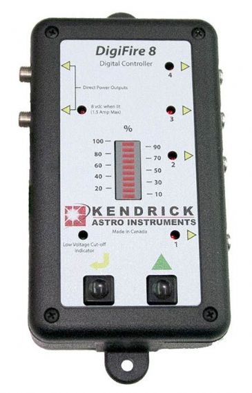 Kendrick DigiFire 8 Digital Dew Heater Controller for Telescope or Camera Lens